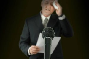 Angst vorm Vortrag